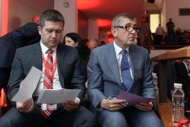 Jan Hamáček a Andrej Babiš