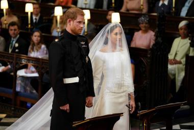 Yes, I will. Britský princ Harry se oženil s americkou herečkou Meghan Markleovou