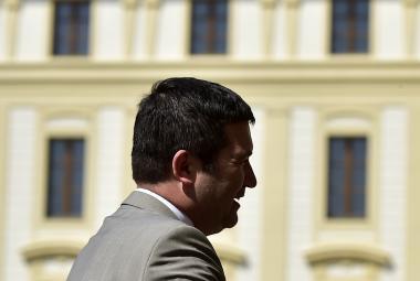 Hamáček na Pražském hradě. Ilustrační foto