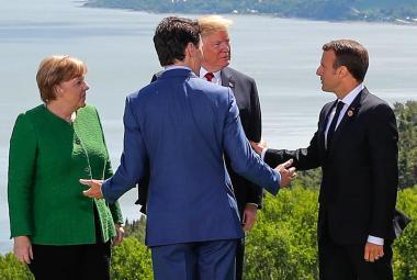 Lídři zemí G7 v Kanadě