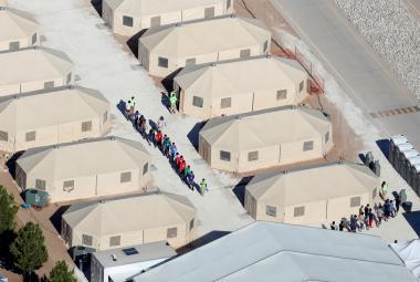 Detenční centrum v Texasu