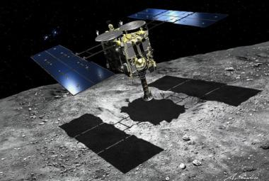 VIDEO: Japonsko zveřejnilo, jak sonda Hajabusa 2 odebrala vzorky z asteroidu Ryugu