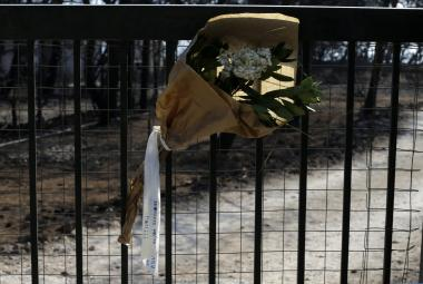 Lesní požáry v Řecku mají desítky obětí
