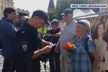 Vzpomínková akce v Moskvě