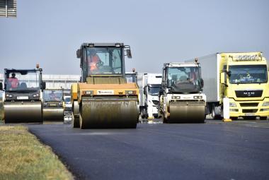 Rekonstrukce dálnice D1 u Prahy končí
