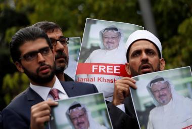 Demonstrace za saúdského novináře, který zmizel z konzulátu v Istanbulu