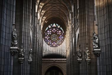 Jako Panská skála v zimě. Nové varhany pro Svatého Víta se inspirovaly u těch kamenných