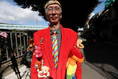Tchaj-wanský aktivista hájící práva homosexuálů