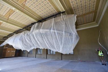 Legendární kostra plejtváka se vrací do Národního muzea. Má za sebou náročnou rekonstrukci