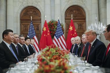 Jednání čínské a americké delegace o obchodních sporech