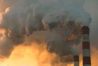 Znečištěné ovzduší v Polsku