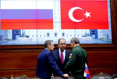 Jednání o Sýrii v Moskvě
