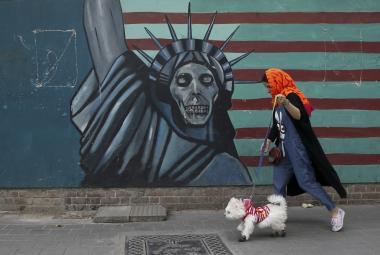 Venčení psa v Íránu