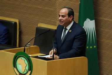 Egyptský prezident Abdal Fattáh Sísí