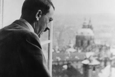 Adolf Hitler na Pražském hradě