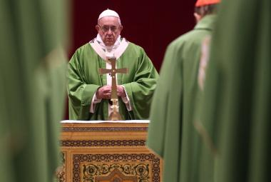 Papež František při projevu na závěr summitu ke zneužívání v církvi