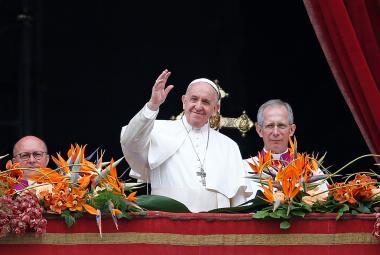 Papež František ve svém poselství připomněl utrpení na Srí Lance, v Sýrii či Jemenu