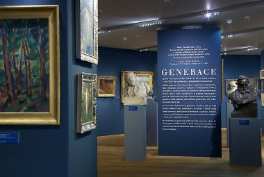 Kupka, Štyrský, Čapek nebo Toyen. Dvě výstavy představují Generace spolku Mánes