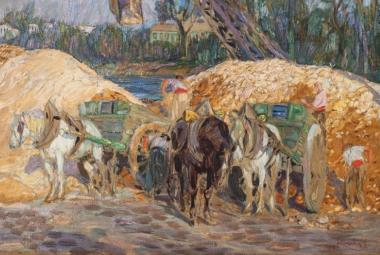 Patřil prezidentu Benešovi. Nyní se obraz Františka Kupky prodal za 20 milionů