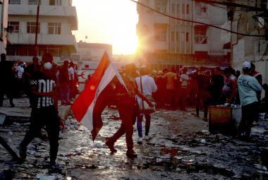 Protest v Bagdádu