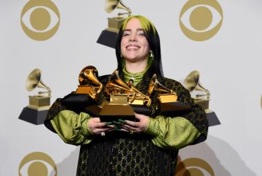 Billie Eilish s cenami Grammy za rok 2019