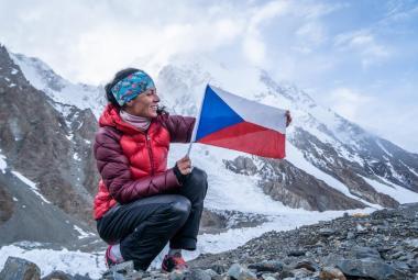 Kolouchová zdolala jako první Češka K2. Film o ní míří do kin