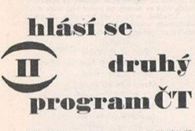 Z dobového tisku: zahájení vysílání druhého programu