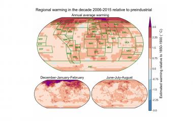 Změny klimatu v mapách: Antarktida jako souostroví a moře v Berlíně
