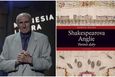 Magnesia Litera: Knihu roku 2020 napsal Martin Hilský. Vrátil se v ní do Shakespearovy Anglie