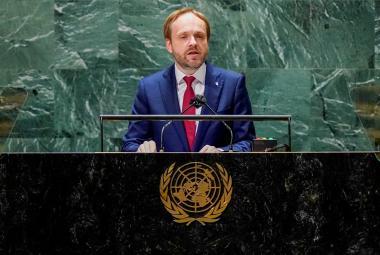 Kulhánek vyzval v OSN k užší spolupráci v boji proti terorismu či změnám klimatu