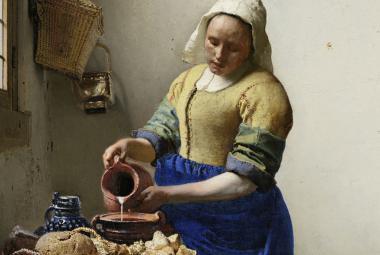 Vermeer nenamaloval jen dívku s perlou. Do Louvru přivedl i astronoma nebo mlékařku