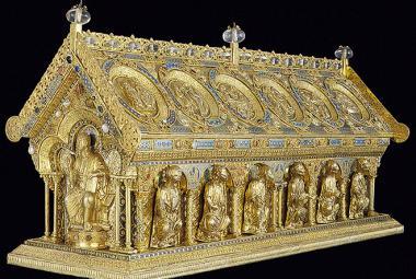 Unikátní relikviář je zpátky v Bečově
