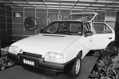 Škoda Favorit Praktik, 1989