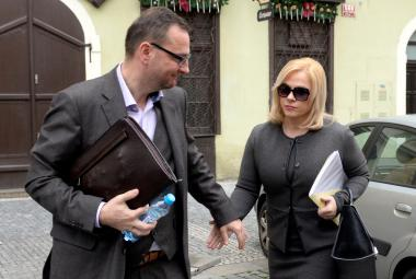 Petr Nečas s Janou Nečasovou