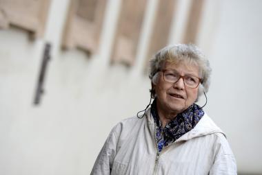 Natalja Gorbaněvská na návštěvě Prahy