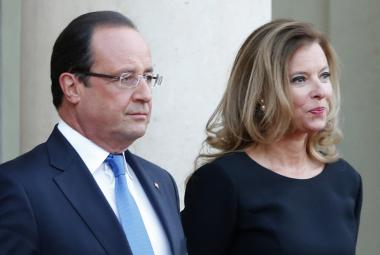 Francois Hollande a Valérie Trierweilerová