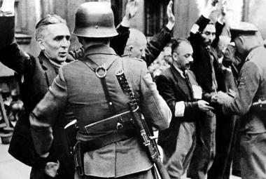 Varšavské ghetto v září 1939