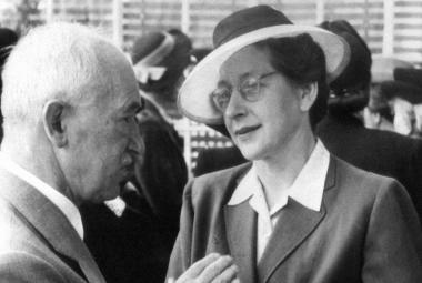 Edvard Beneš a Milada Horáková