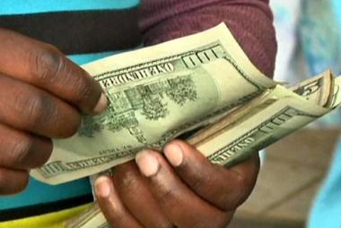 Směnárna v Zimbabwe