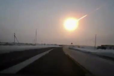 Nad Kamčatkou v zimě explodoval meteor. Výbuch byl desetkrát silnější než bomba, která zničila Hirošimu