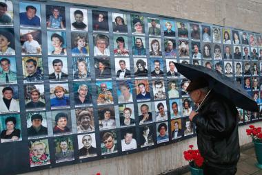 Oběti masakru v Dubrovce