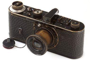 Nejdražší fotoaparát světa - Leica za 55 milionů