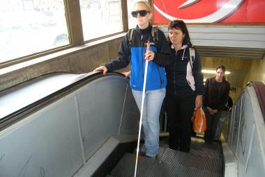 V České republice vzniká navigace pro nevidomé