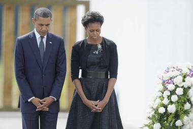 Obama vyzdvihl odvahu a odolnost Američanů po 11. září
