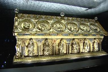 Relikviář sv. Maura je zpět na zámku Bečov