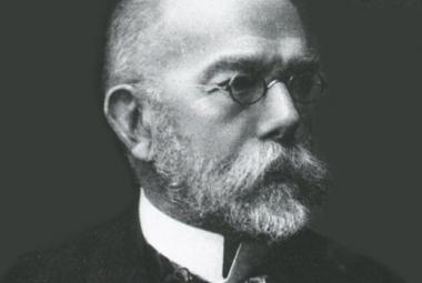 Bakterie TBC a cholery objevil otec mikrobiologie Robert Koch