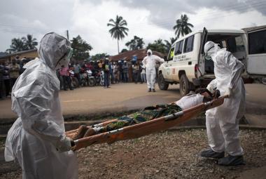 Boj s ebolou v Sieře Leone