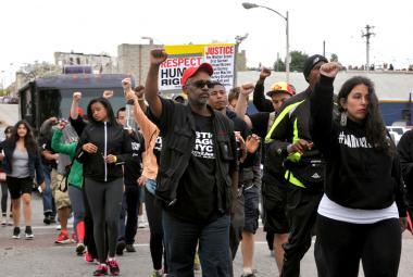 V Baltimoru se protestovalo proti policejní zvůli