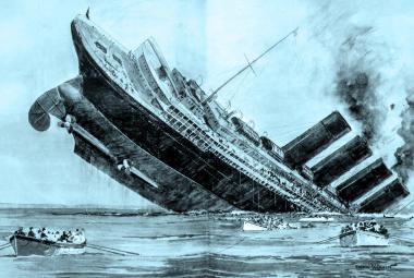 Potopení Lusitanie - jeden z milníků první světové války