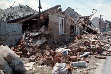 Troubky po povodni v roce 1997